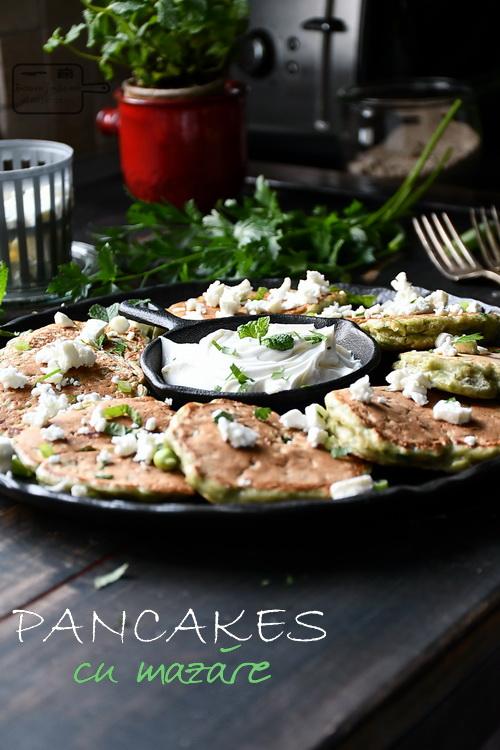 Pancakes cu mazare - Bucătăria familiei mele - www.alexjuncu.ro