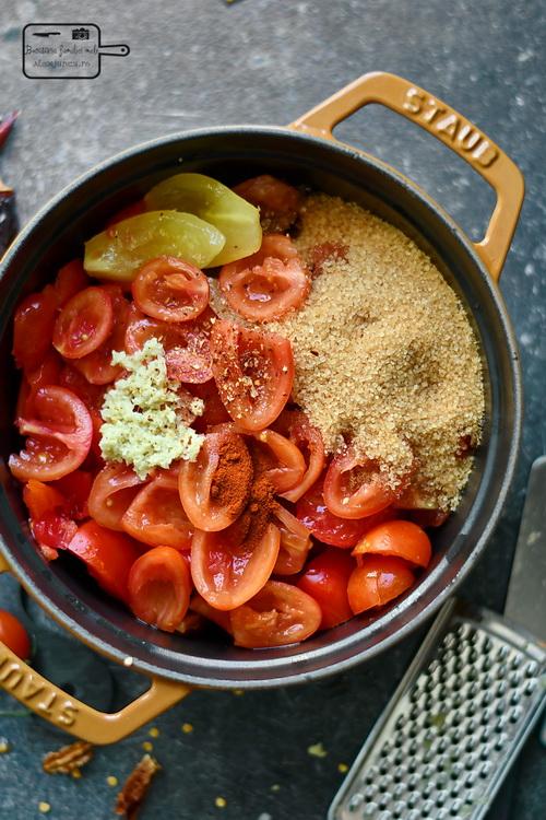 Gem de Roșii- Bucătăria familiei mele - www.alexjuncu.ro