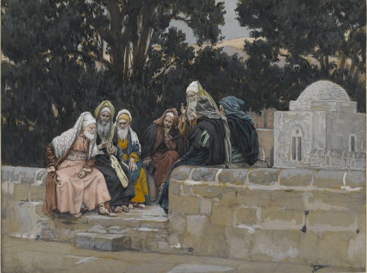 Brooklyn_Museum_-_The_Pharisees_and_the_Herodians_Conspire_Against_Jesus_(Les_pharisiens_et_les_hérodiens_conspirent_contre_Jésus)_-_James_Tissot_-_overall