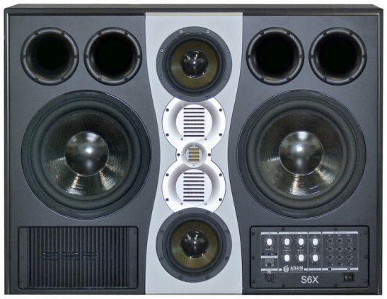studio monitor adam s6x