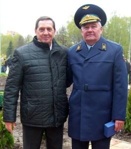 В. Г. Корзун и В. В. Березовский 9 мая 2017 год