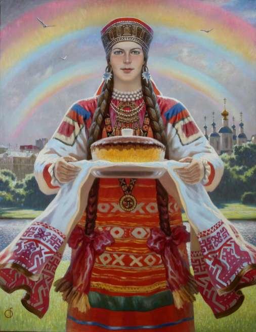ОЛЬШАНСКИЙ Б. М. Земля Тамбовская. 2012 Х., м. 130х100