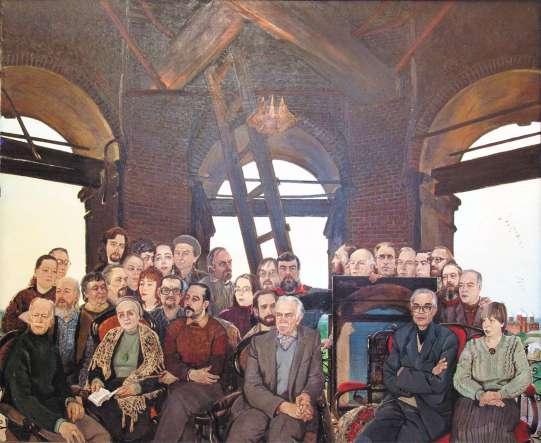 СИЗОВ В. В. ТАМБОВСКИЕ ХУДОЖНИКИ. 1992 Х., м. 200х250