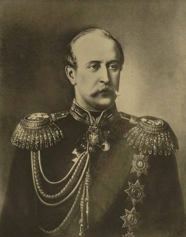 Шеф жандармов граф П. А. Шувалов