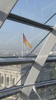 German flag in Berlin