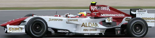 Force India Car