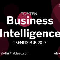10 BI & Analytics Trends, die in keiner Datenstrategie fehlen dürfen