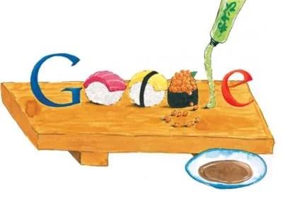 Sushi Google Doodle