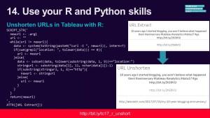 TC17 Social Media Slides: Unshorten URLs in Tableau with R