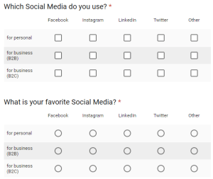 Social Media Analytics session survey