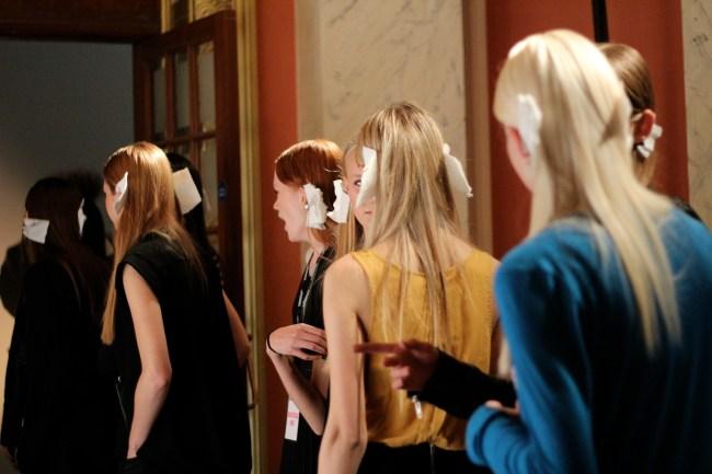 Fashion Fringe 2011 Backstage ©www.alexloves.com