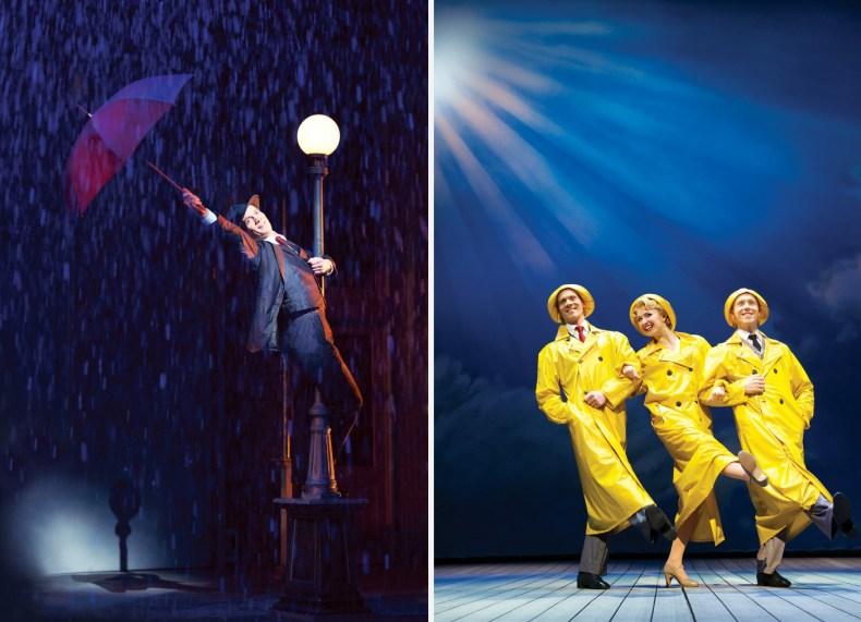 Singin' in the rain, London