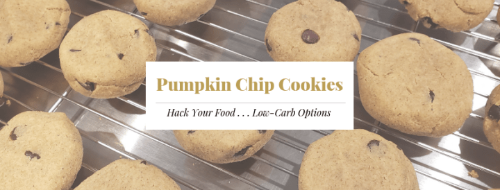 Keto Pumpkin Chip Cookies