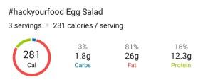 Nutrition - Egg Salad