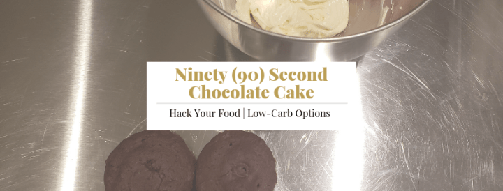 90 Second Chocolate Cake