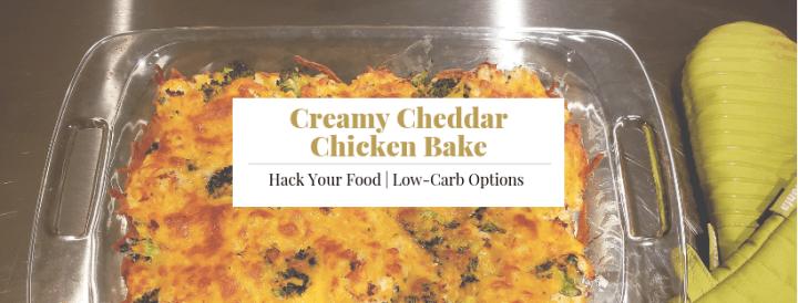 Creamy Cheddar Chicken Bake