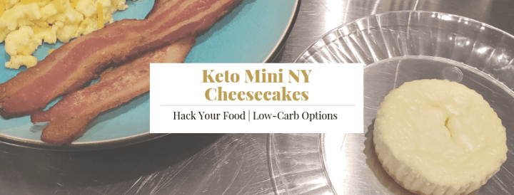 Keto Mini NY Cheesecakes