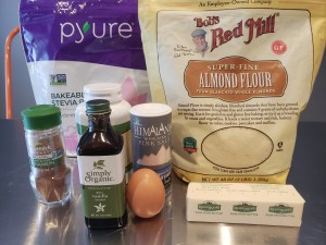Ingredients - Snickerdoodle Almond Cinnamon Cookies