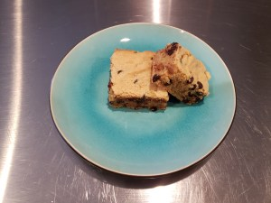 Plated - Peanut Butter Blondie Cake Bars