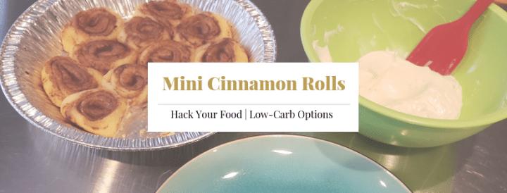 Mini Cinnamon Rolls