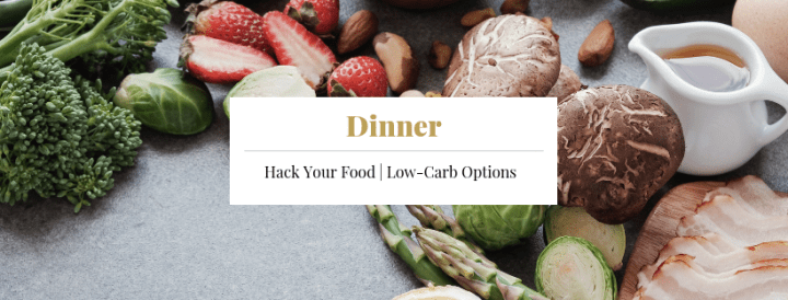 Cover - Dinner Keto Recipes