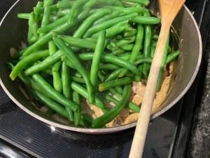 Keto Green Bean Casserole 9