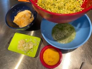 Keto Squash Zucchini Fritters 3