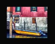 Canal Boat Venice