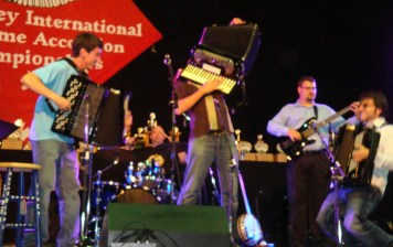 The accordions!