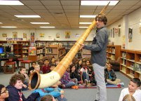 Kids love the Alpen Horn