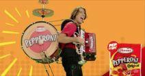 Alex Meixner Hormel Pepperoni One Man Band
