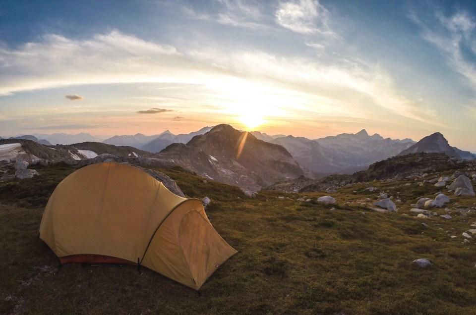 GoPro photo of Mount Rohr in British Columbia