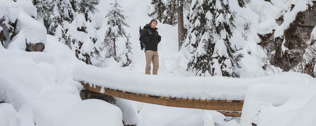 Winter at Jamieson Creek in Kamloops