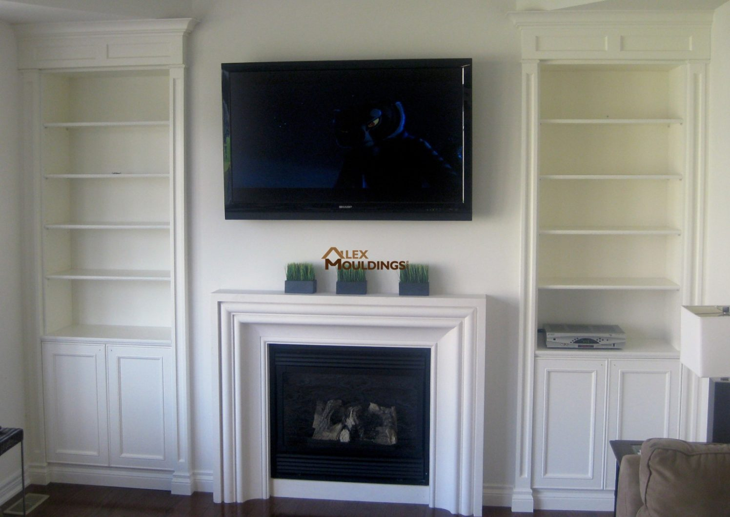 Tv Wall Entertainment Units Fireplace Mantels Photos