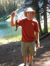 8/26/09: Ian with a fine fishy friend