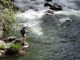 4/26/14: Dad on the McCloud River