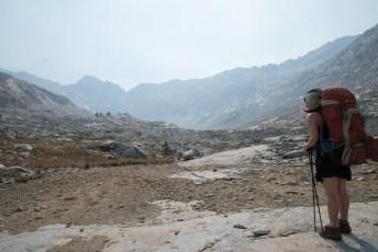 Upper reaches of the Kern-Kaweah, looking towards Pants Pass