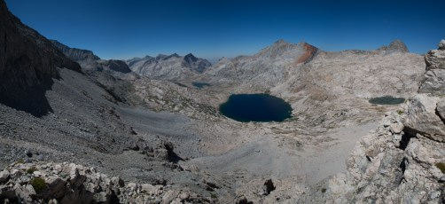Nine Lakes Basin - we met my parents at the outlet of the big lake