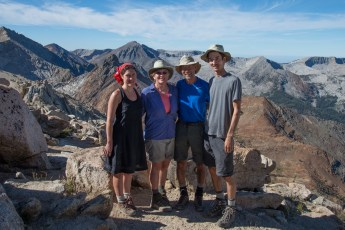 Group at Sawtooth Pass