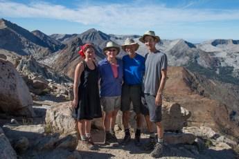 Group at Sawtooth Pass