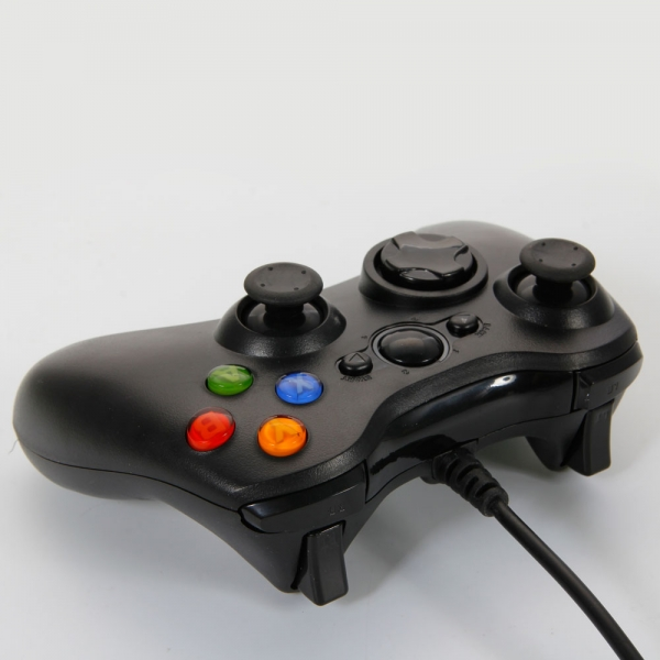 USB Wired Controller For Xbox 360 Amp Windows PC Black Alex NLD