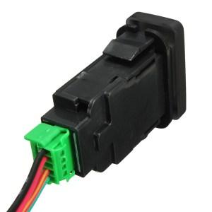 OEM Replacement LED Light Push Switch For Toyota Landcruiser Hilux Prado FJ 12V   Alexnld