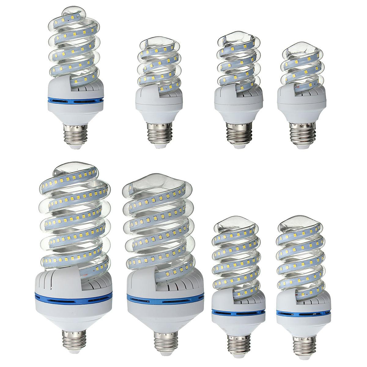 E27 5w 30w Led Spiral Style Ultra Bright Energy Saving
