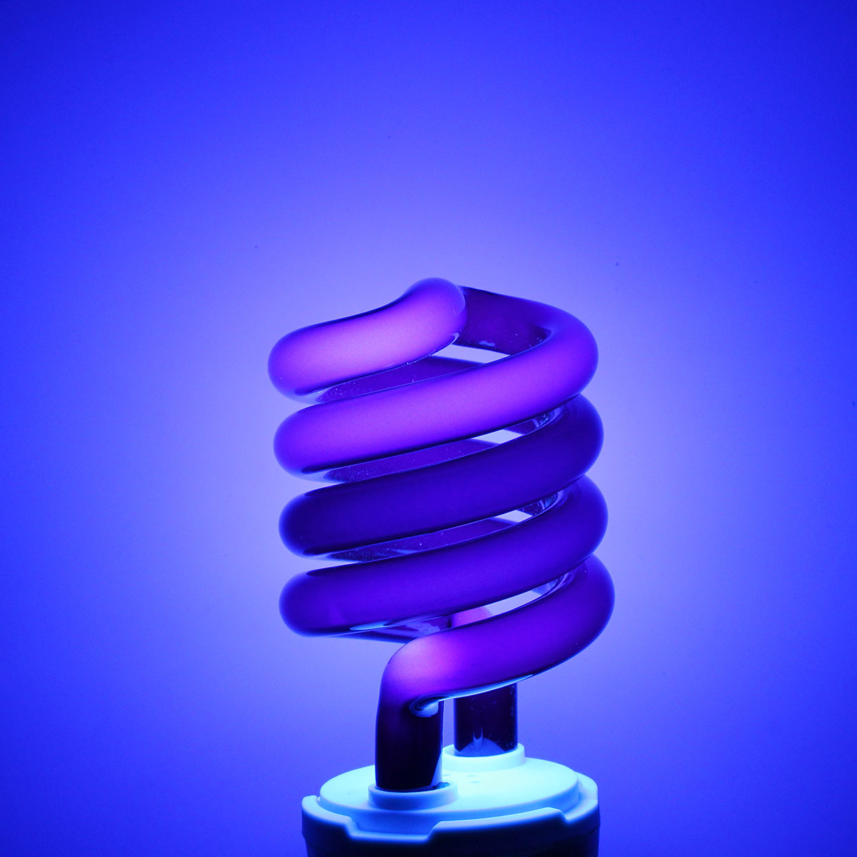 Uv Ultraviolet Spiral Low Energy Saving Cfl Light Bulb E27