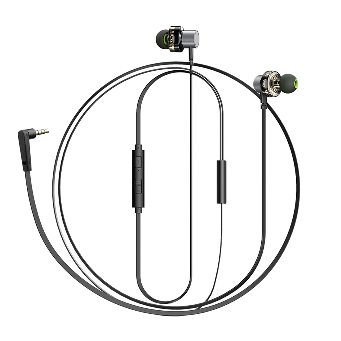 Awei Z1 In Ear Wire Control Earphone With Mic For Iphone