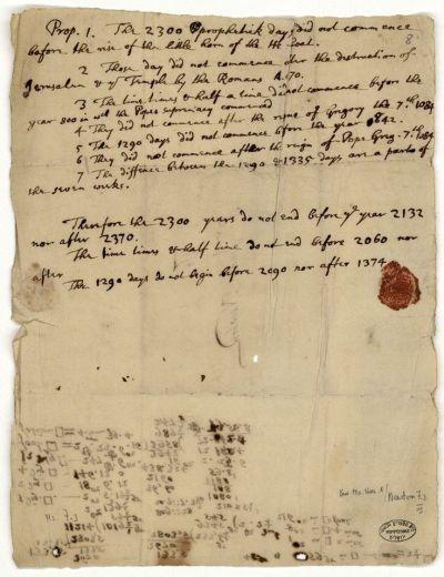 Newton-Letter