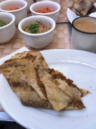 Bread cooked in fish sauce? It tastes much, much better than it sounds and is a real treat