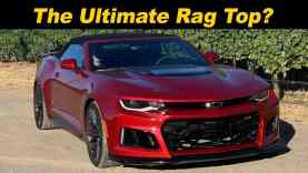 2020 Chevy Camaro ZL1 Convertible | Not A Hard-Core Drop Top…