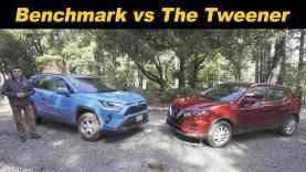 2020 Nissan Rogue Sport vs Toyota RAV4