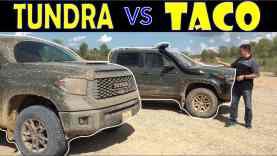 2020 Toyota Tacoma vs 2020 Toyota Tundra